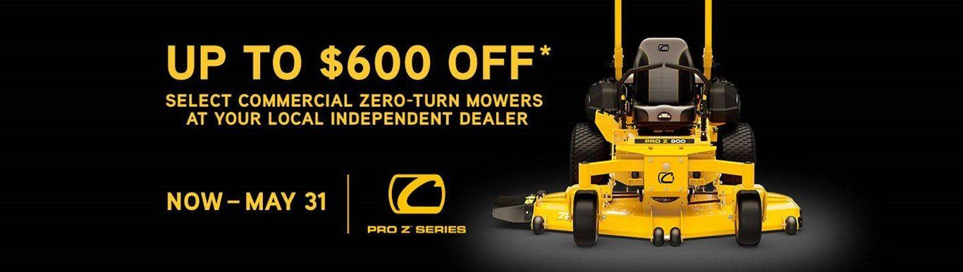 Cub Cadet - Seize the Day Promotion