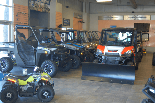 ATVs and UTVs from Polaris, Hisun and Kymco