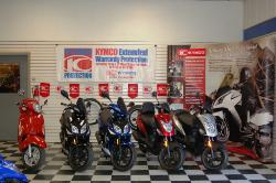 Motorcycles on the dealership floor | Door County Motorsports